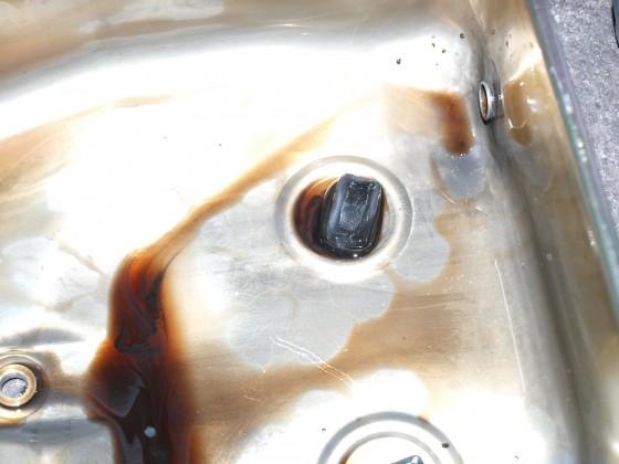 Ölwechsel / Ölwanne der 4HP22