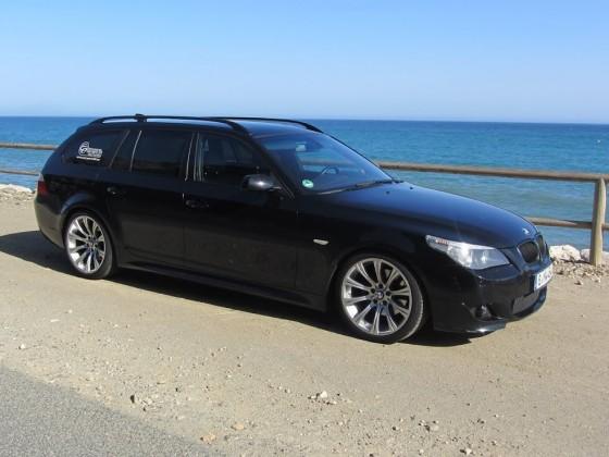 BMW e61 an der Costa del Sol