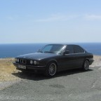 BMW e34 535iA in Andalusien